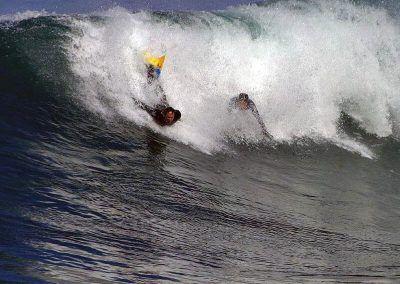 La Jolla Body Surfing - California