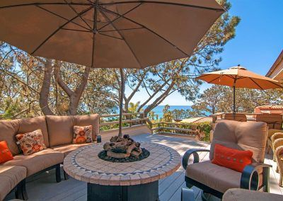 Deck with Ocean View - Olde Del Mar
