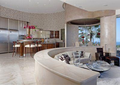 Kitchen Area - Nook - Living Area - 7455 Hillside Drive
