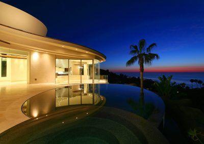 Night View - 7455 Hillside Drive
