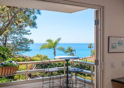 Deck and Corner Nook - 209 Torrey Pines Terrace