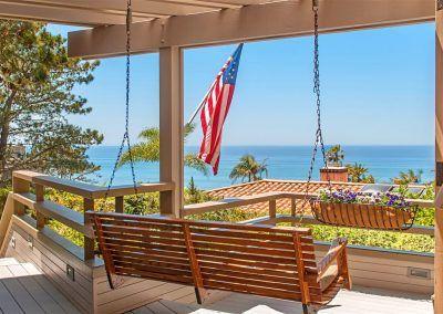 Deck and Swing - 209 Torrey Pines Terrace