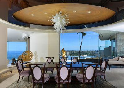 Dining Area with Ocean View - 7455 Hillside Drive