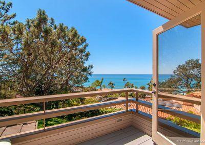 Master Bedroom Deck - 209 Torrey Pines Terrace