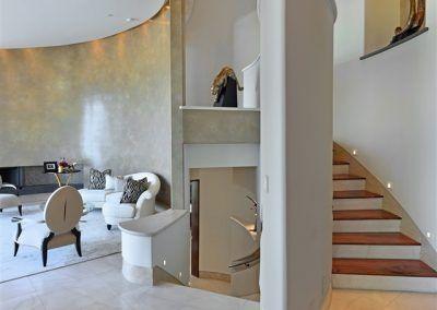 Spiral Staircase - 7455 Hillside Drive